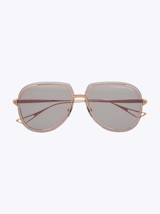 Dita Nightbird-Three Sunglasses Rose Gold 1