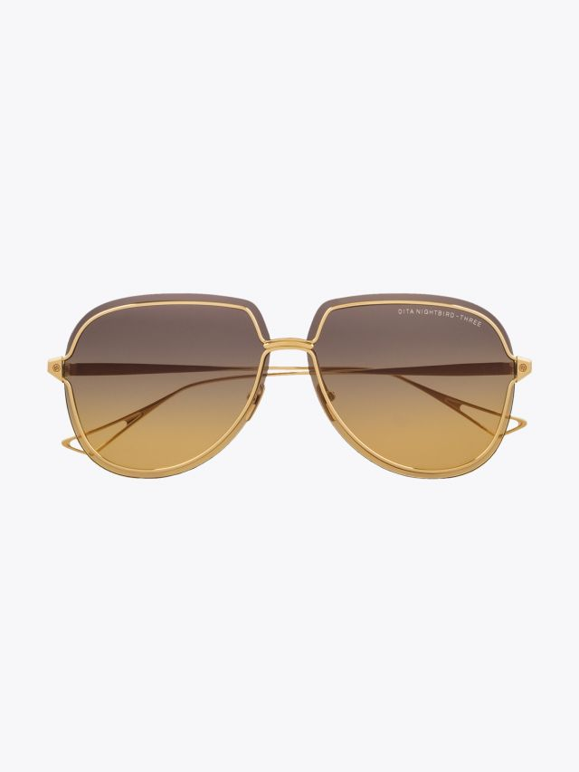 Dita Nightbird-Three Sunglasses Gold 1
