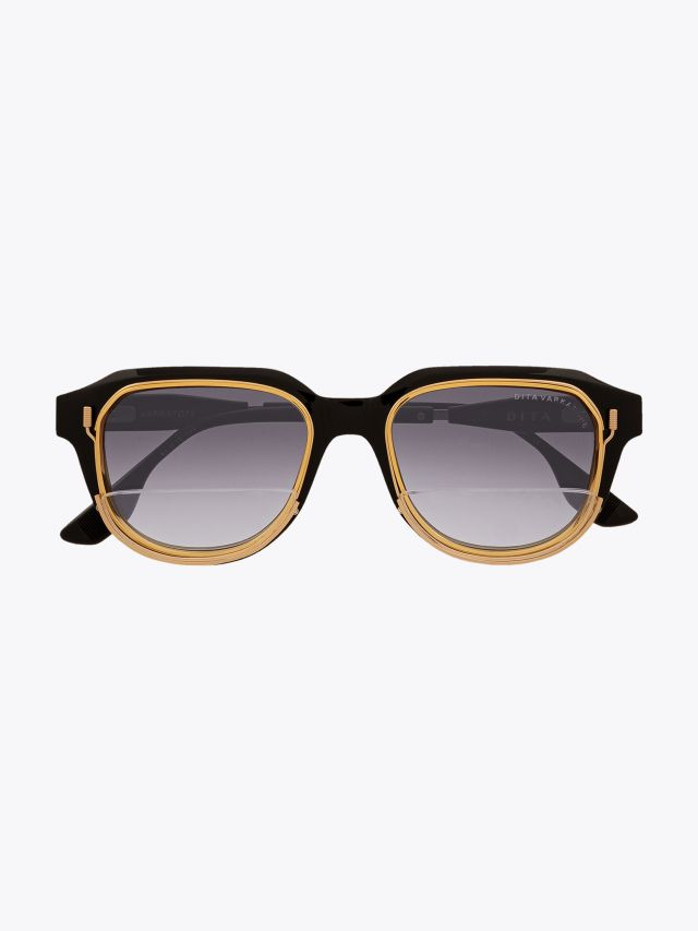 Dita Varkatope Limited Edition Sunglasses Black with removable reader lens carrier system Front View