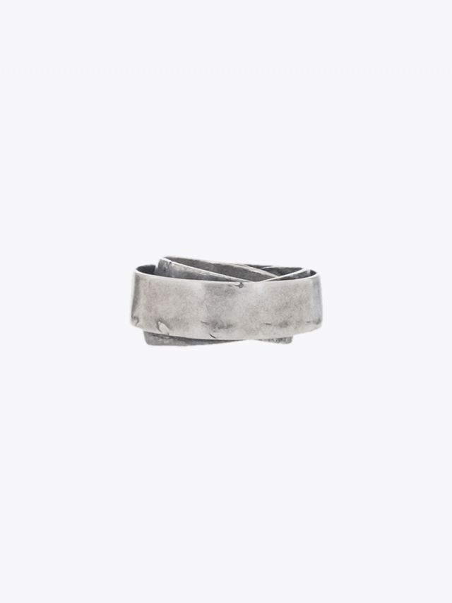 Goti Triple Band Ring Sterling Silver 1