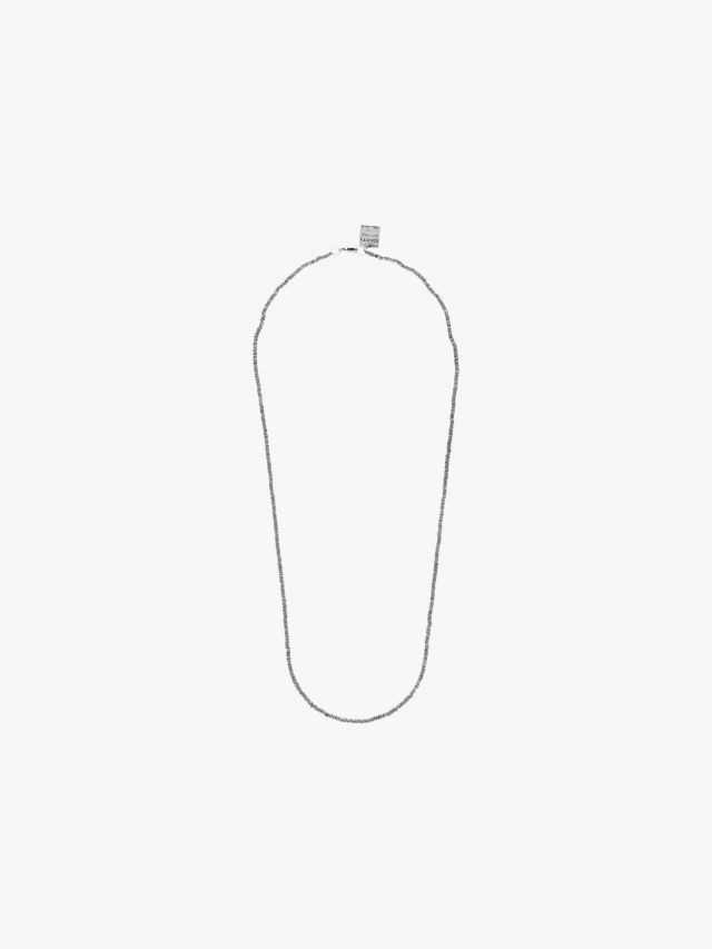 Goti CN715 Silver Necklace Front View