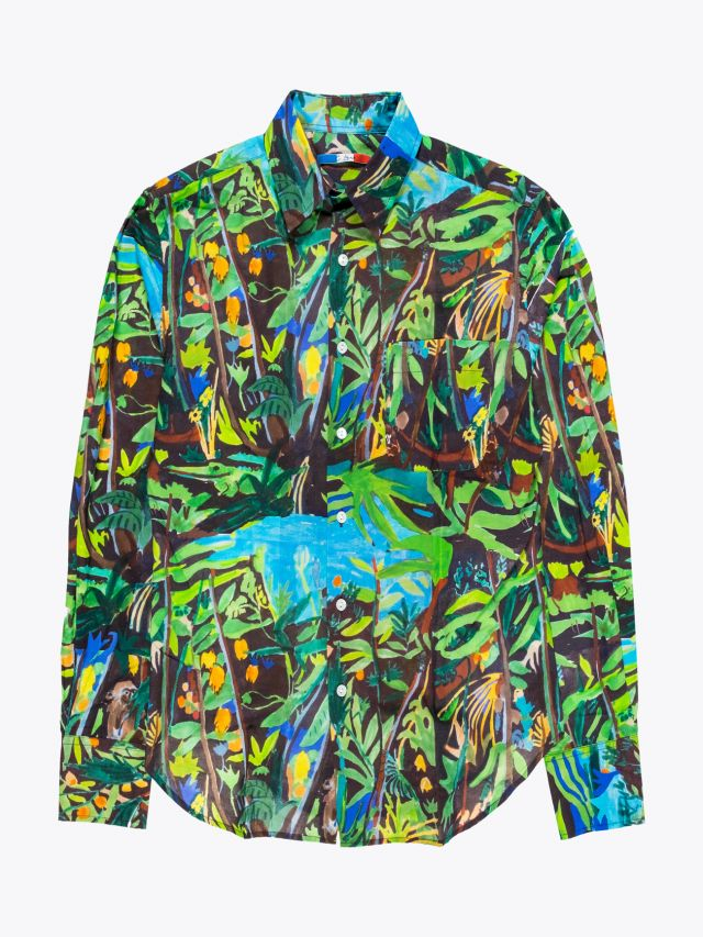 G.Kero Super Jungle Cotton Shirt 1