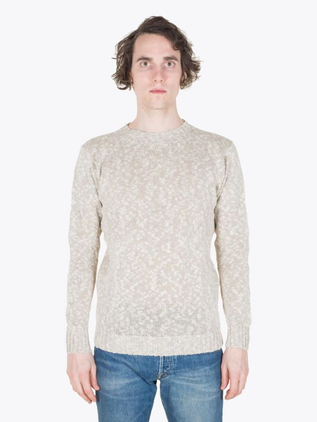 Howlin' Archibald Crewneck Dark Natural Full View