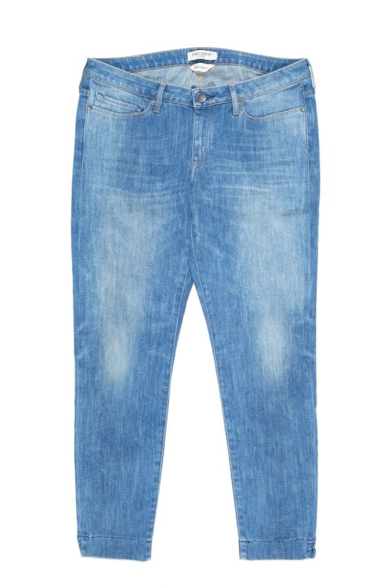 Levi's Made & Crafted Pins Skinny Cropped Shore Female Jeans