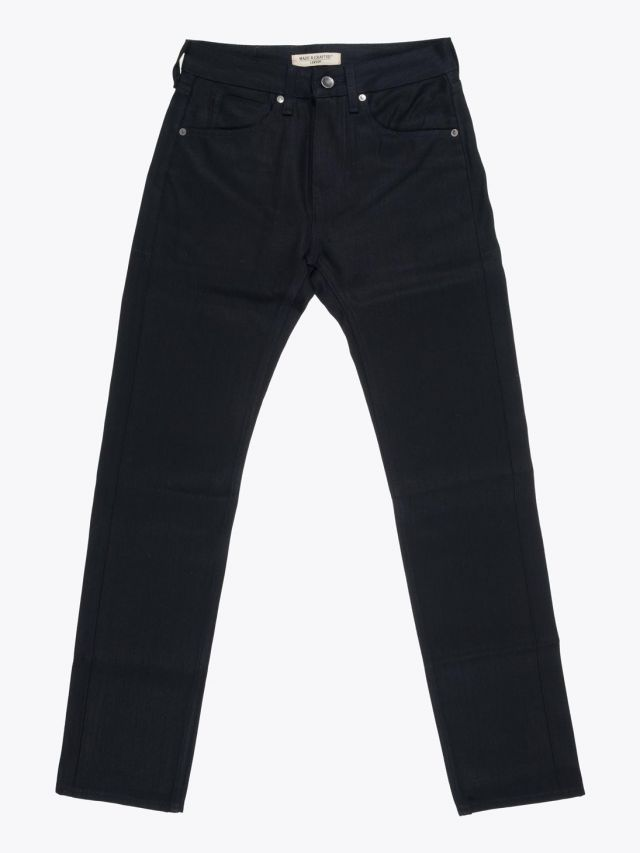 Levi's Made & Crafted Tack Slim Fit Jeans Black Selvedge Full View