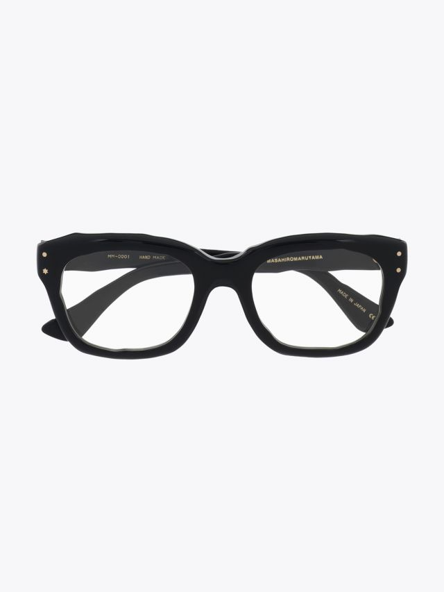 Masahiromaruyama Dessin Optical Glasses MM-0001 No.1 Black 1