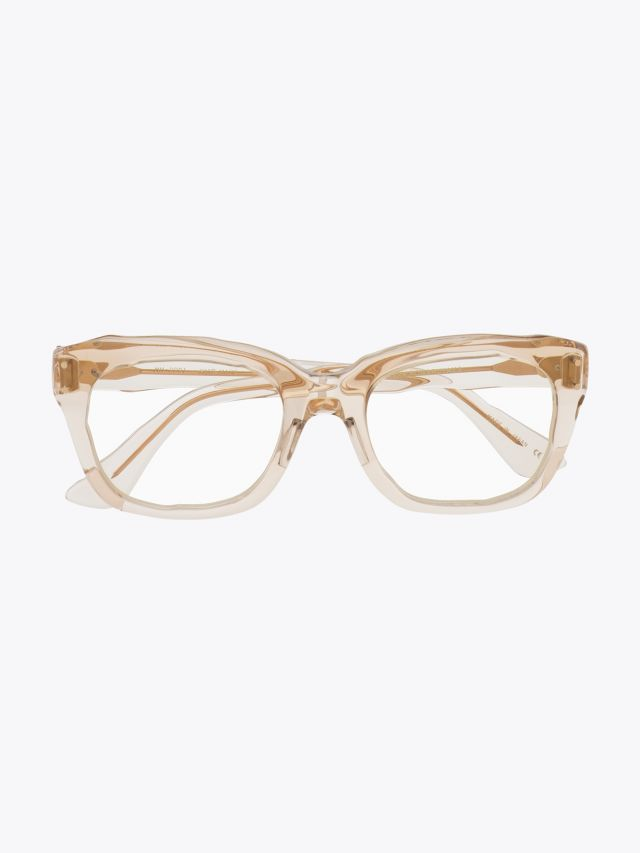 Masahiromaruyama Dessin Optical Glasses MM-0001 No.4 Clear Light Brown 1