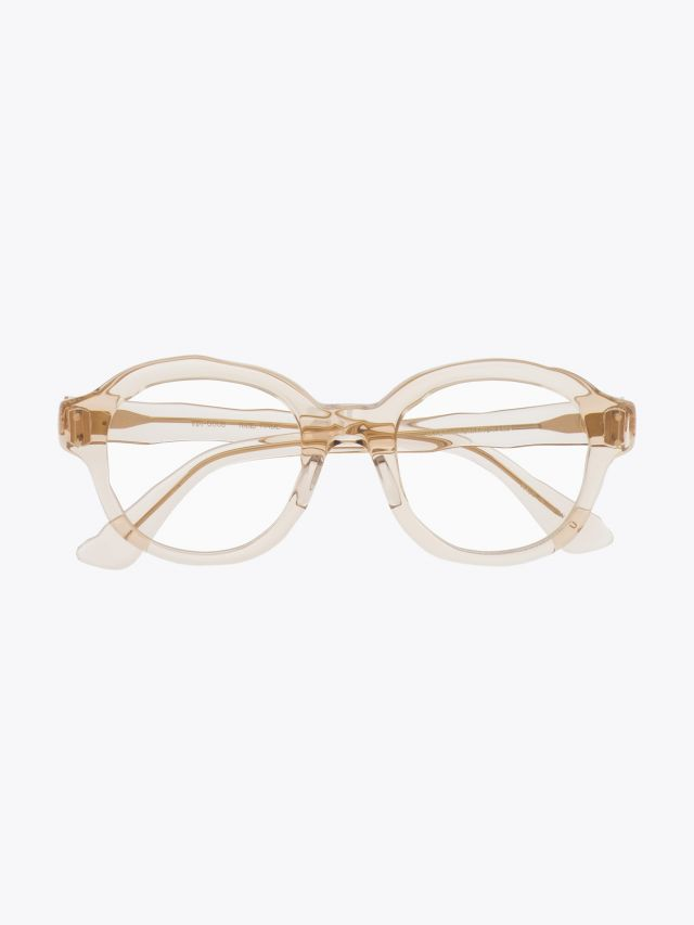 Masahiromaruyama Dessin Optical Glasses MM-0008 No.4 Clear Light Brown 1