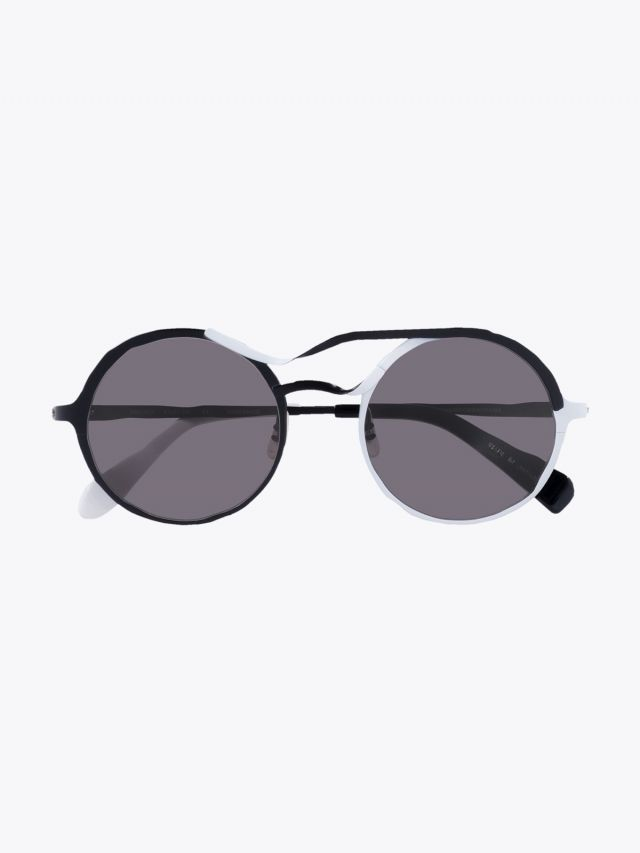 Masahiromaruyama Twist MM-0037 No.3 Sunglasses Black / White 1