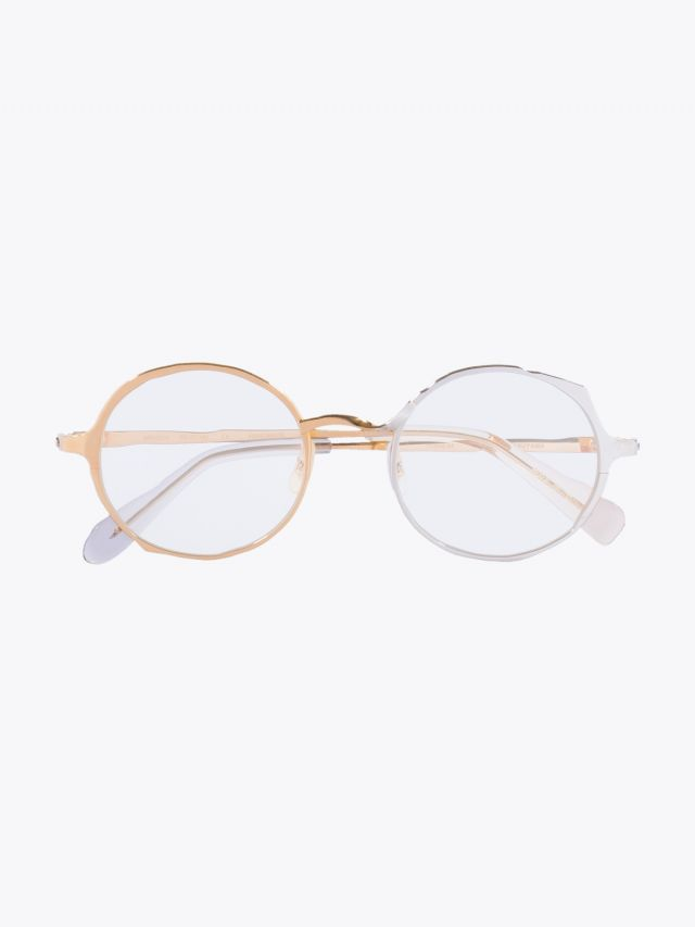 Masahiromaruyama Twist MM-0038 No.5 Optical Glasses Gold / Silver 1