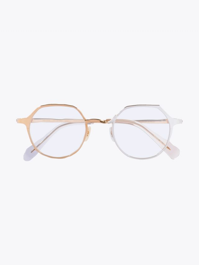 Masahiromaruyama Twist MM-0039 No.5 Optical Glasses Gold / Silver 1