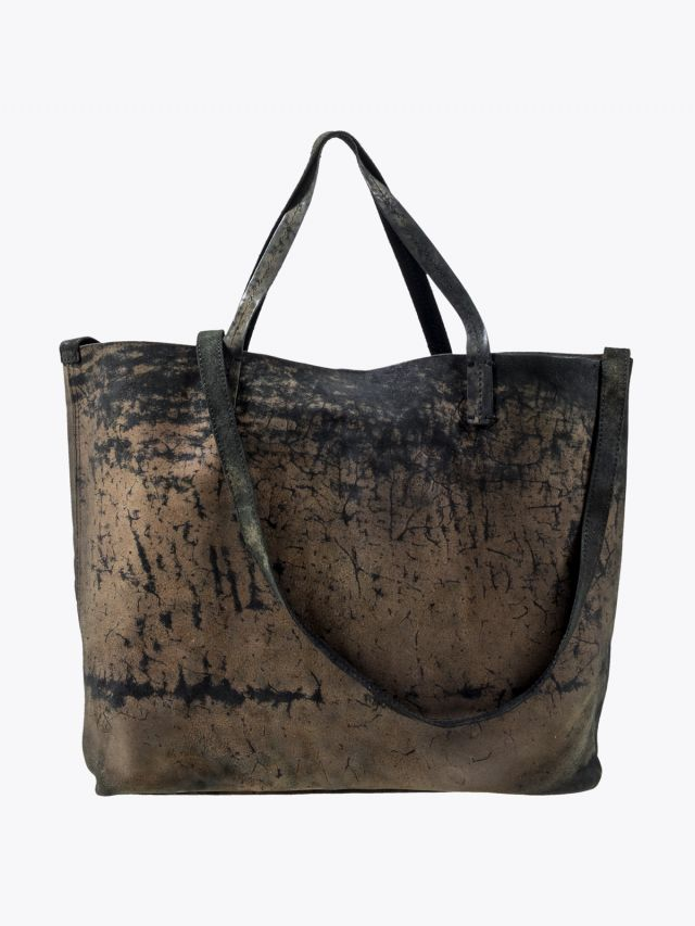 Numero 10 Belen Shopper Bag Tamponato Military 1 1