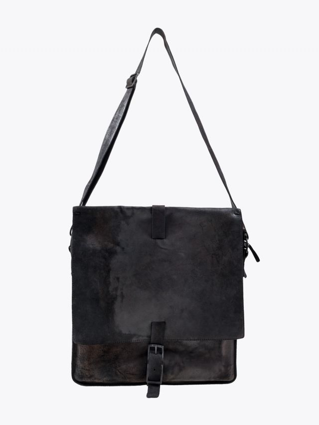 Numero 10 Panama Messenger Bag Tamponato Black 2 1