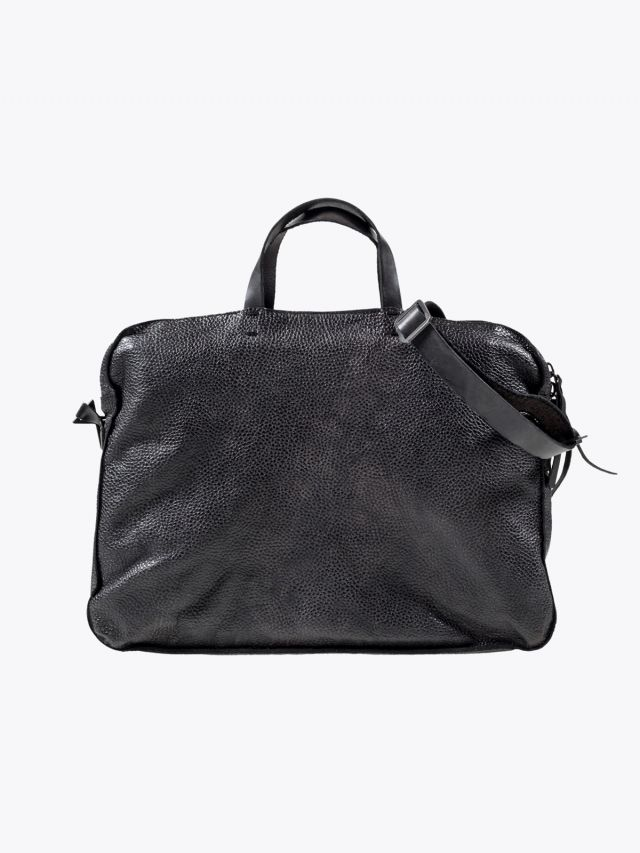 Numero 10 Montevideo Briefcase Tamponato Black 1 1