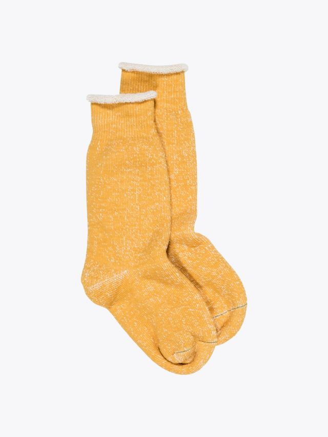 Ro To To Double Face Socks Yellow 1