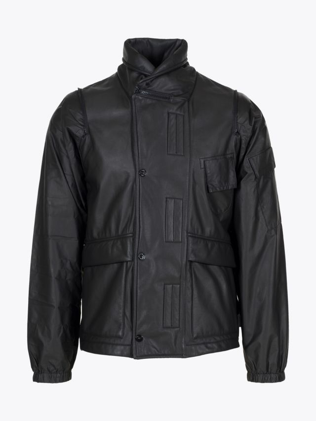 Stone Island 438Y2 PWR Gore-Tex Infinium Soft Lined Shell Jacket Black 1