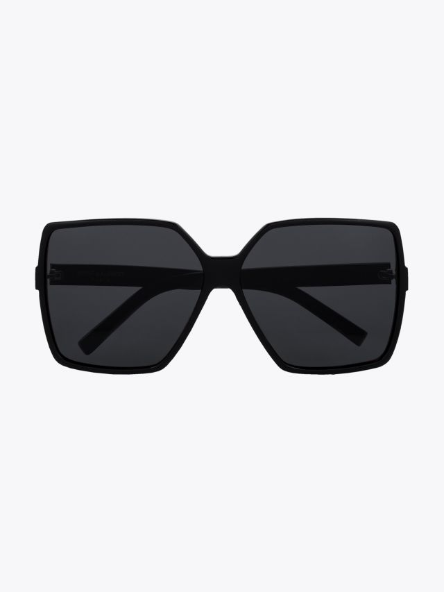 Saint Laurent New Wave SL 232 Betty Sunglasses Black 1