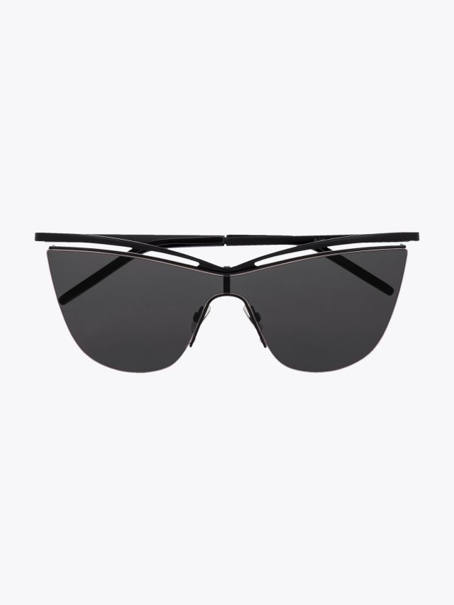 Saint Laurent New Wave SL 249 Sunglasses Black 1