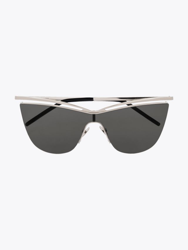 Saint Laurent New Wave SL 249 Sunglasses Silver 1