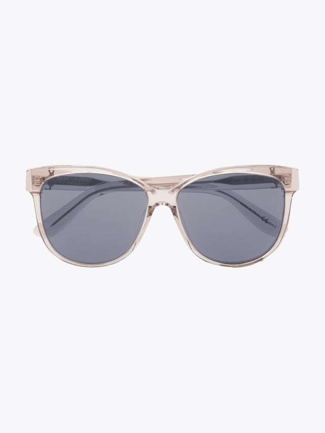 Saint Laurent Monogram SL M23/K Sunglasses Nude 1