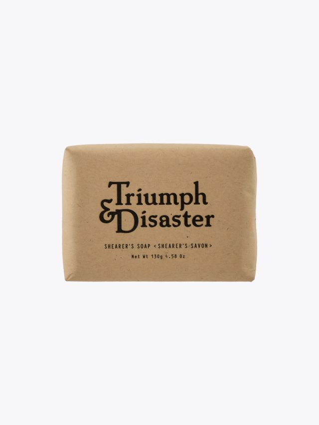 Triumph & Disaster Shearer's Soap 130g 1
