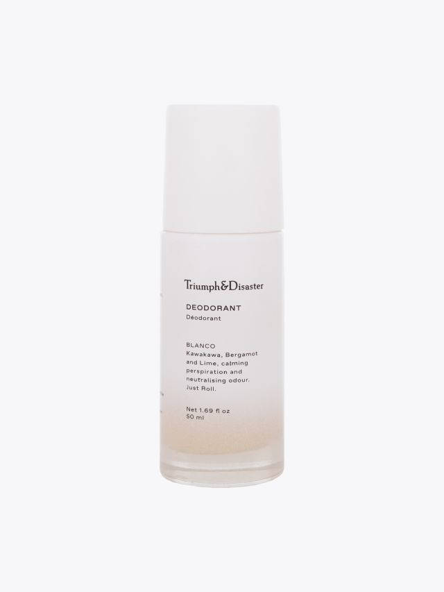 Blanco Deodorant - Triumph & Disaster front view