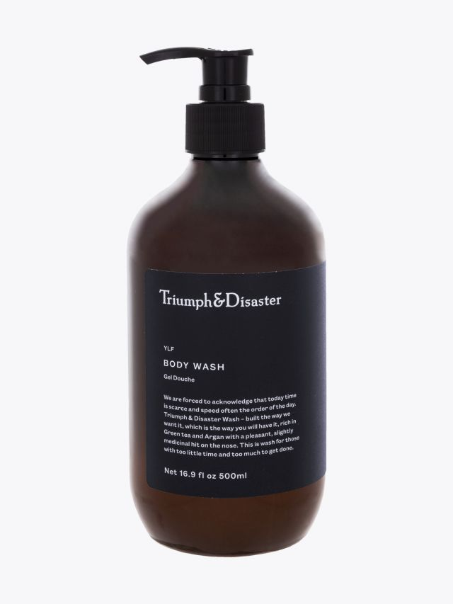 YLF Body Wash - Triumph & Disaster 500ml front view