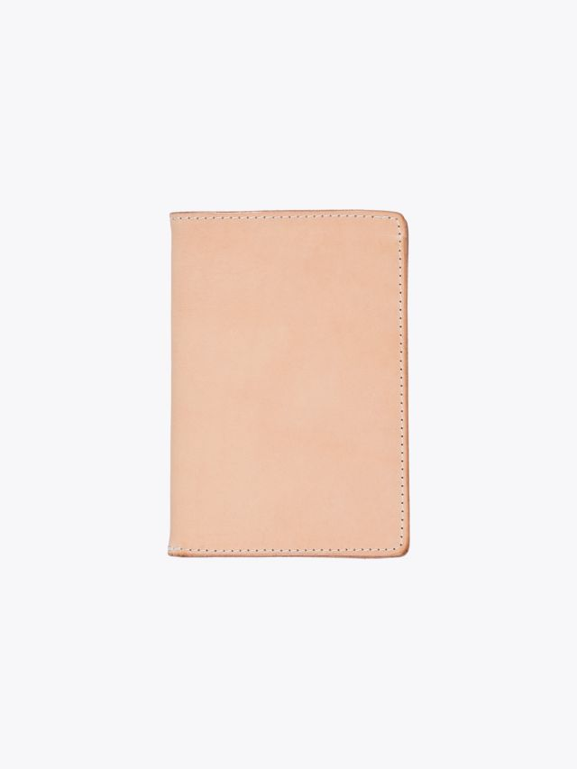 Tanner Goods Travel Wallet Natural 1