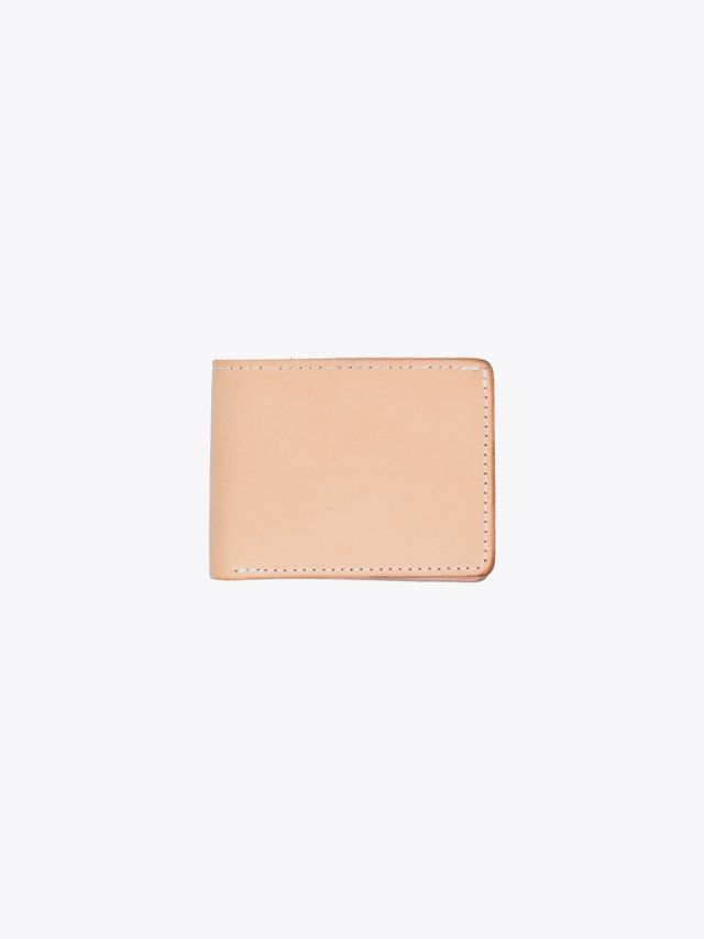 Tanner Goods Utility Bifold Wallet Natural 1
