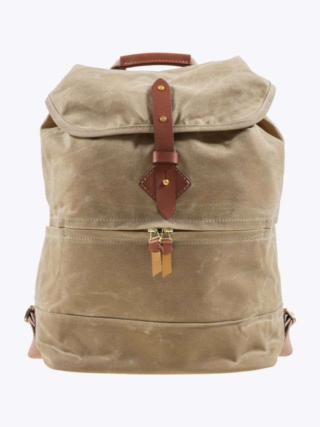 Tanner Goods Voyager Daypack Waxed Field Tan 1