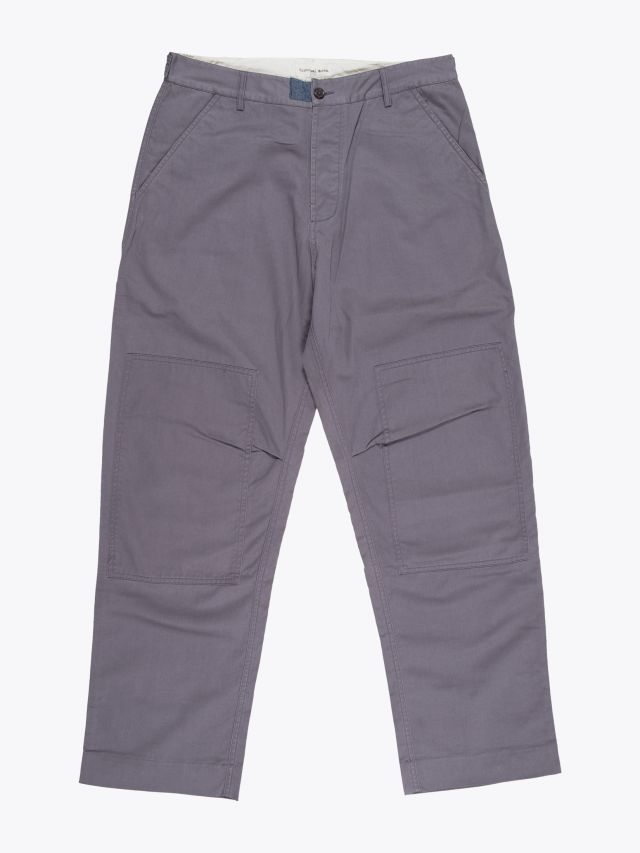 Universal Works Twill Derby Pant Grey 1