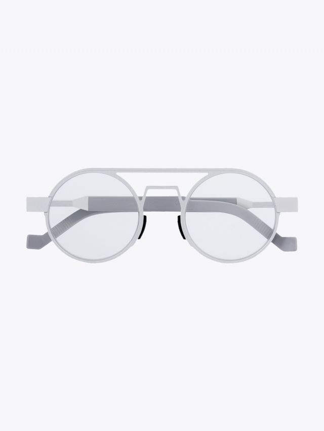 Vava White Label 0018 Optical Glasses Silver 1