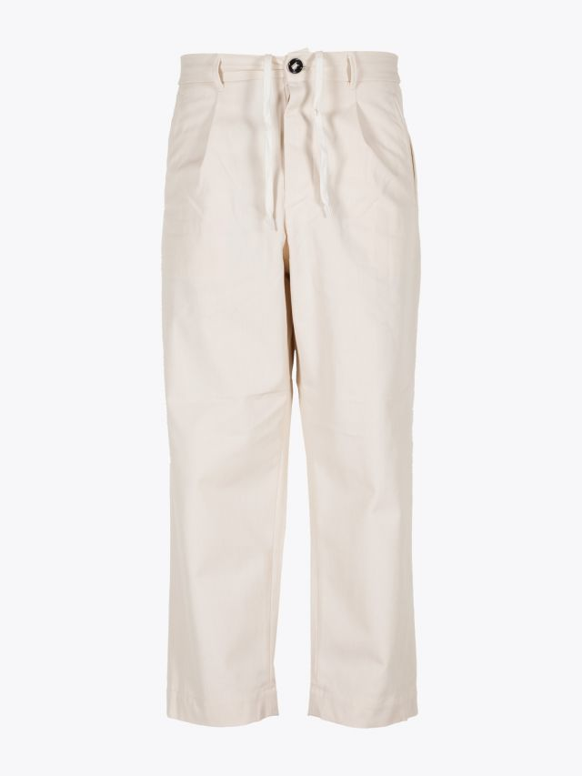 A Vontade 1 Tuck Atelier Easy Cotton Pants Natural 1
