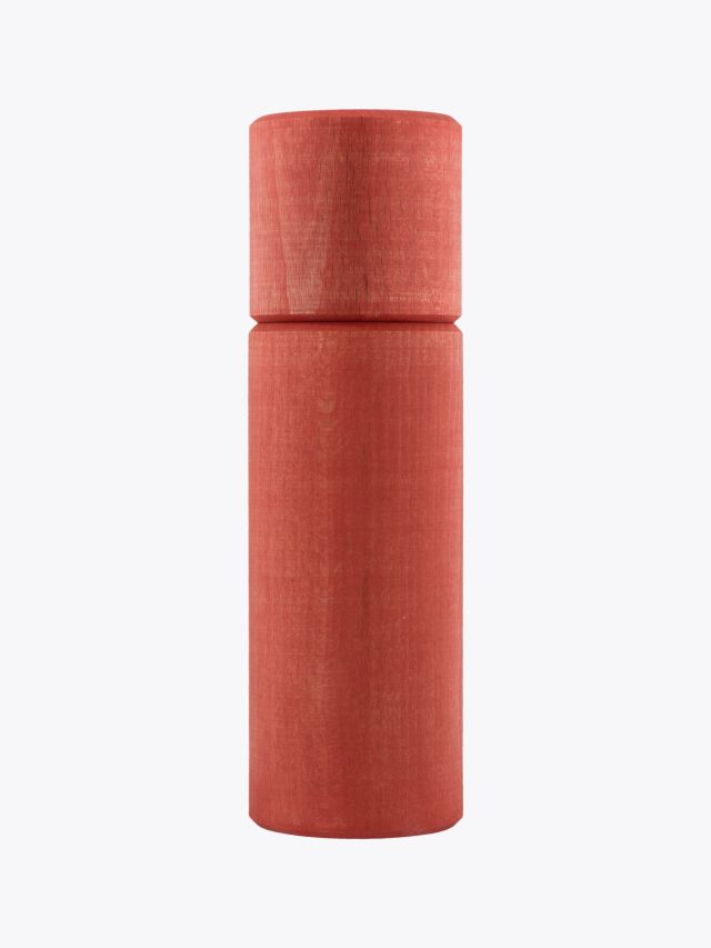 Wauwau Ben Pepper Mill Beechwood Red Front View