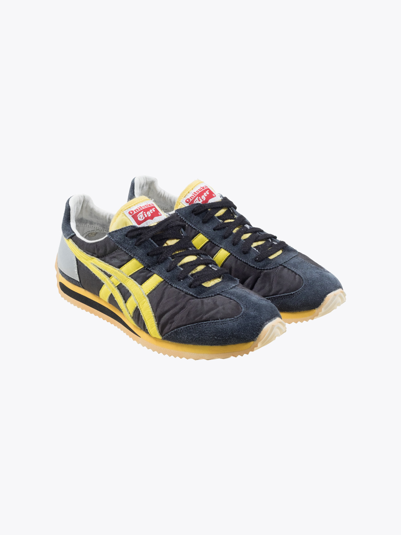 4491508bc6b5 Onitsuka Tiger - California 78 OG VIN Sneakers Black Blazing Yellow - E35  SHOP Outlet